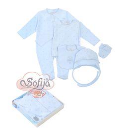5-częściowy komplet Gwiazdeczka www.sofija.com.pl  #babyshower #babygift #kinder #babygeschenk #kids #baby #dziecko #prezent #niemowlak #wyprawka #sofija #ubranka #подарокребенку #ребенок