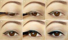 Easy Winged eyeliner Tutorial