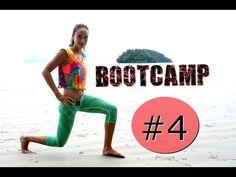 Bestes Workout!!! Bootcamp Workout #4 - Ganzkörper Training für Frauen, Frauenfitness, Hardcore Workout - YouTube