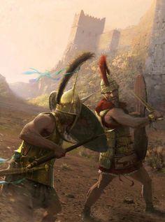 Hector vs. Achilles