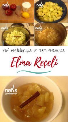 Apple Jam, Oatmeal, Pudding, Homemade, Baking, Eat, Breakfast, Desserts, Recipes