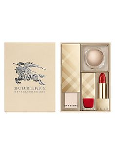 Saks burberry festive gift set see more at IcanGWP beauty blog - your beauty gift with purchase destination