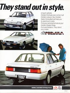 1986 Holden LC Astra 5 Door Hatchback RB Gemini Sedan VL Commodore Sedan MB Barina 5 Door Hatchback RY Piazza Turbo JD Camira Sedan Limited Edition Formula Models Page 2 Aussie Original Magazine Advertisement Holden Australia, Australian Cars, Ford Galaxie, Vintage Advertisements, Cars And Motorcycles, Cool Cars, Gemini, Period Color, Advertising