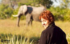 Mobile safari in Moremi, Botswana