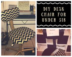 DIY Desk Chair for under $18. Coming to channel soon!