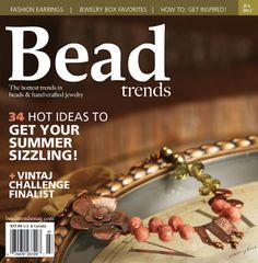 Bead Trends Magazine July 2012 | Northridge Publishing
