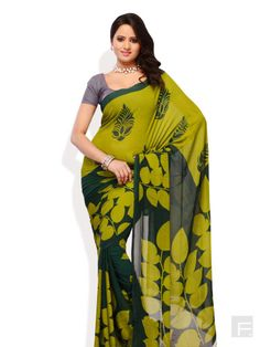 PETRAFAB // Nurture Nature Printed Saree