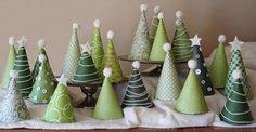 Create your own little xmas trees!
