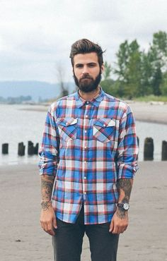 beardsftw: bearddporn: Beard and Tattoo Blog Instagram: thedevilinmybloodstream [[ Follow BeardsFTW! | Tumblr | Facebook ]]