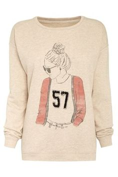 Varsity Girl Sweater