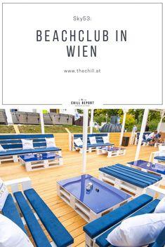 sky 53 summer lounge: Österreichs Lagunen-Beach Club Beach Club, Lounge, Austria, Beach Mat, Chill, Outdoor Blanket, Europe, Sky, Outdoor Decor