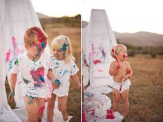 Love The Idea Of A Messy Photoshoot