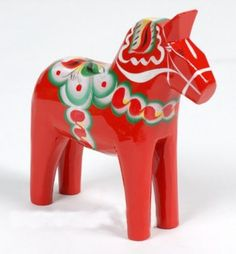 Dala Horse from Swedishness.com - Mine is the official colors of Sweden Love it!!!!