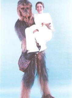 Chewbaca's Star Wars photos