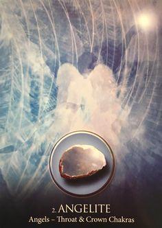 AngeLite ~ Ángeles, a partir de los cristales eternos cartas de la baraja de Oracle, por Jade-Cielo