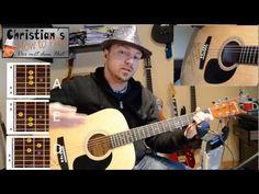 Online Gitarre- Kurs auf deutsch mit einem Bereich für Anfänger.