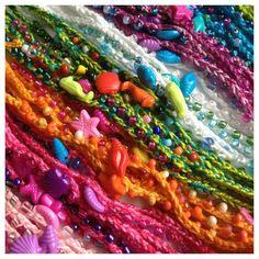 Friendship Bracelet Mermaid Costume Beach by BeachDaisyJewelry
