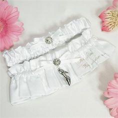 Fairy Tale Bridal Garter Set - Cinderella Wedding Accessories and FairytaleTheme Wedding Accessories