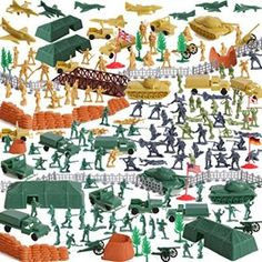 BMC WW2 Iwo Jima Plastic Army Men - Island, Tanks and Soldiers 72pc Playset - Walmart.com - Walmart.com Army Men Toys, Nerf Toys, Armored Truck, Military Figures, Flag Stand, Army Soldier, Childhood Toys, Toy Store, Vintage Toys
