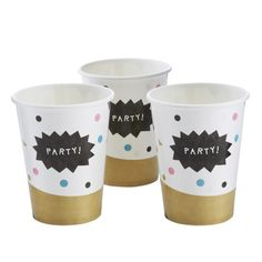 Pappbecher – Confetti Party Serie