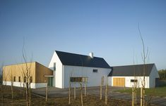 Woodfield House — PG Architects House Designs Ireland, Passive House, Types Of Houses, Architecture Design, New Homes, House Styles, Architects, Building, Outdoor Decor