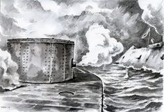 The Ironclads  My artwork, 2014