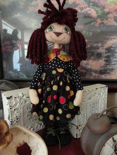 Annie Sally Bee doll pattern 216 ET. $10.00, via Etsy.