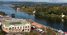 Chile does not stop surprising us with its majestic cities, today we talk about Valdivia a simply charming city, full of history and culture. The best cultural monuments of Chile you find them in. Patagonia, Hotel Offers, The Locals, Tourism, Castle, Culture, Island, Mansions, Lakes
