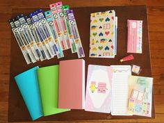 #Planner Supplies Haul: Jet Pens, AORJournals and Happie Scrappie