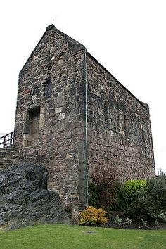 St Margaret's Chapel- Edinburgh Castle built in honor of Saint Margaret Atheling --my ancestor!