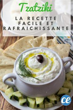 La recette du Tzatziki : Facile et Tellement Rafraîchissante !