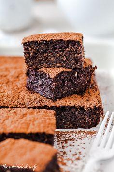 Gooey Chocolate Chia & Sweet Potato Brownie - Dairy & Gluten Free   The Whimsical Wife