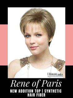 New Addition Hair Piece by Rene of Paris. A great topper hair piece designed to give more volume on the crown of the head or a fresh new look. #wigs #wigsmaker #wifglife
