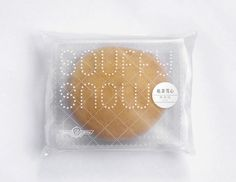 Souffy Snow, souffle cake packaging, design by Blow, Hong Kong Bakery Packaging, Pretty Packaging, Brand Packaging, Design Packaging, Packaging Ideas, Food Branding, Branding Design, Bakery Branding, Logo Design