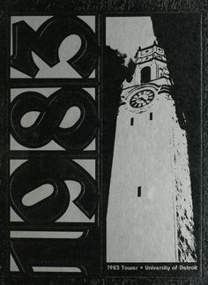 1983 University of Detroit Tower Yearbook