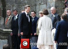 Colin Firth and Nicole Kidman filming a wedding scene for the new movie 'The Railway Man' in Fife,Scotland - 05.05.2012