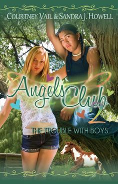 Angels Club 2: The Trouble with Boys. River and Kat deal with competing clubs, bullies and frisky horses while hunting for treasure in the adventure of their lives when they find an old buried map. http://www.amazon.com/Angels-Club-Trouble-Treasure-Adventure-ebook/dp/B016BTDUX2