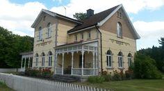 Råbäcks station, Kinnekulle