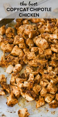 restaurant recipes Copycat Chipotle chicken recipe is to die for and even better than the original! Its so juicy and made with an incredible marinade that is simple, fast, and so tasty! Chipotle Chicken Copycat, Chipotle Copycat Recipes, Copy Cat Chipotle Chicken, Mexican Seasoning For Chicken, Qdoba Chicken Recipe, Chipotle Restaurant Recipes, Mexican Chicken Marinade, Simple Chicken Recipes, Mexican Grilled Chicken