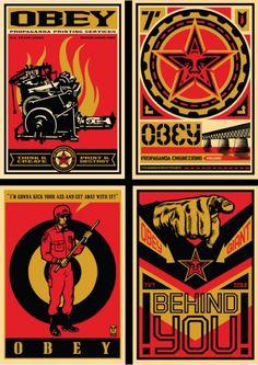 Shepard Fairey http://www.theworldsbestever.com/2009/03/31/shepard-faireys-20-year-ica-retro-series-fine-art-print-set/