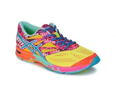 Look at this ASICS Flash Yellow & Turquoise Gel-Noosa Tri 10 Running Shoe on today! Running Asics, Running Sneakers, Running Shoes, Women's Sneakers, Textiles, Trail Shoes Women, Asics Gel Noosa, Rainbow Sneakers, Running Accessories
