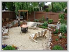 ideas about Sand Backyard on Pinterest Outdoor