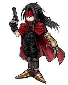 Vincent Valentine from Dissidia Final Fantasy Opera Omnia