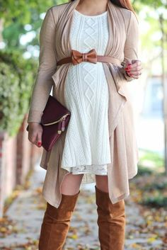 Stylish Maternity dresses for baby shower - Maternity Fashion - Pregnancy Fashion Winter, Winter Maternity Outfits, Stylish Maternity, Winter Outfits Women, Winter Fashion, Fall Maternity Fashion, Fall Pregnancy Outfits, Maternity Sweater Dress, Maternity Sweaters