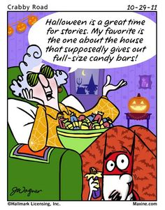my favorite Halloween story | Maxine for 2011-10-29