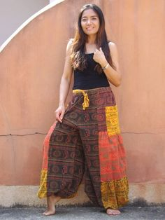 Aladdin Pants, Harem Pants, Trousers, Casual Looks, Night Out, Comfy, Unisex, Stone, Skirts
