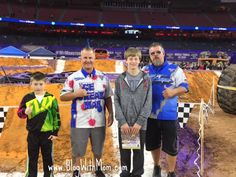 We're on our way to Monster Truck Jam in Houston, Texas. Each year our family looks forward to going to this event. The kids especially love the Pitt Pass where they can take pictures with the mon...