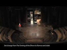 Watch this time lapse video of the the Stratford Shakespeare Festival's crew changing sets from The Taming of the Shrew to Romeo and Juliet.