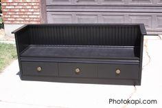 Old Dresser to Bench