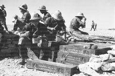 Artiglieri consumano il rancio seduti nella loro postazione RG/RG145/RG00007283.JPG